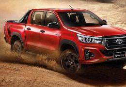 Nova Toyota Hilux 2021 deve chegar em julho com motor mais potente