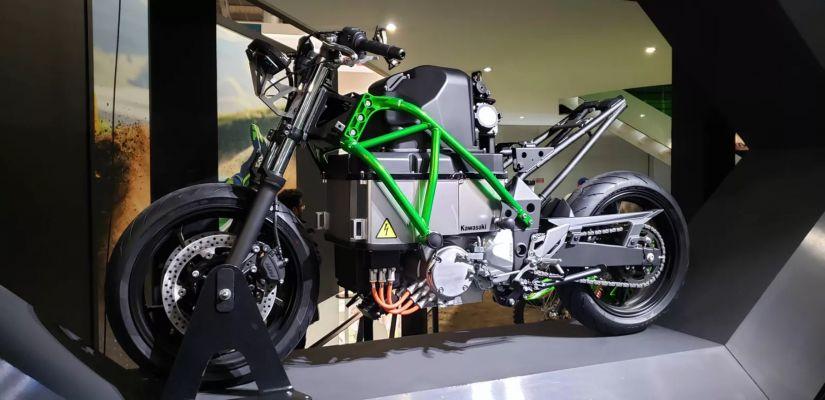 Kawasaki desenvolve 1ª Ninja elétrica da história