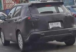 Novo Toyota Corolla Cross é flagrado em testes na Tailândia