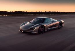 Novo McLaren Speedtail poderá chegar aos 403 km/h