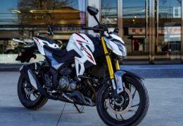 Nova moto Haojue DR 300 é revelada