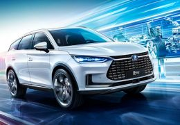 BYD apresenta SUV elétrico de 7 lugares e 500 km de autonomia