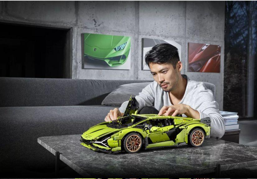 Lamborghini Sián ganha edição limitada em Lego com 4 mil peças