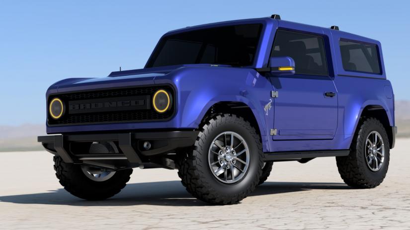 Ford confirma data de estreia do novo Bronco