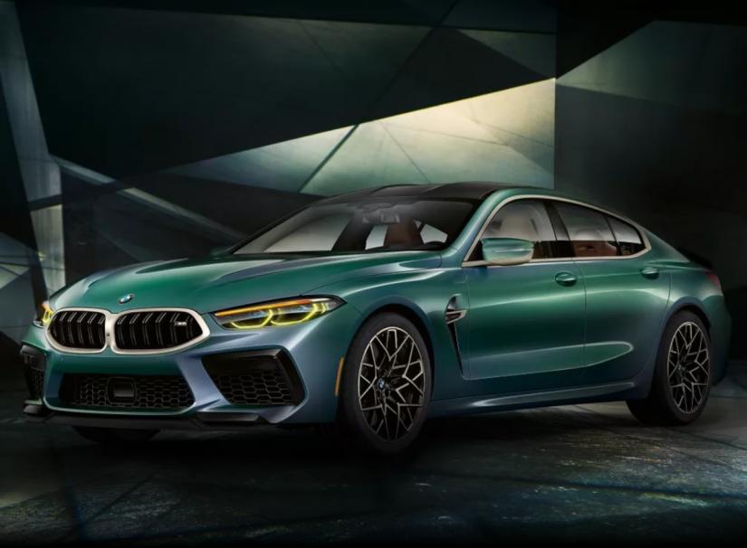 BMW lança M8 Gran Coupé First Edition no Brasil