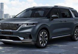 Kia vai lançar minivan Carnival 2021 com estilo de SUV