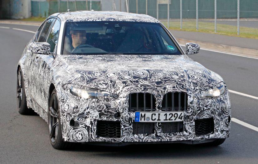 BMW divulga teaser do M3 2021 com foco no desempenho