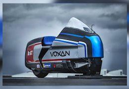 Voxan divulga moto elétrica de 425 cv de potência