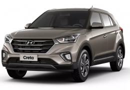 Hyundai Creta terá nova versão topo de linha