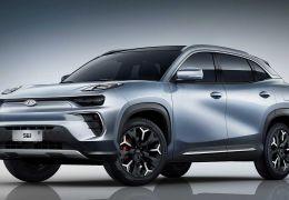 Chery revela primeiro SUV elétrico previsto para estrear ainda neste ano