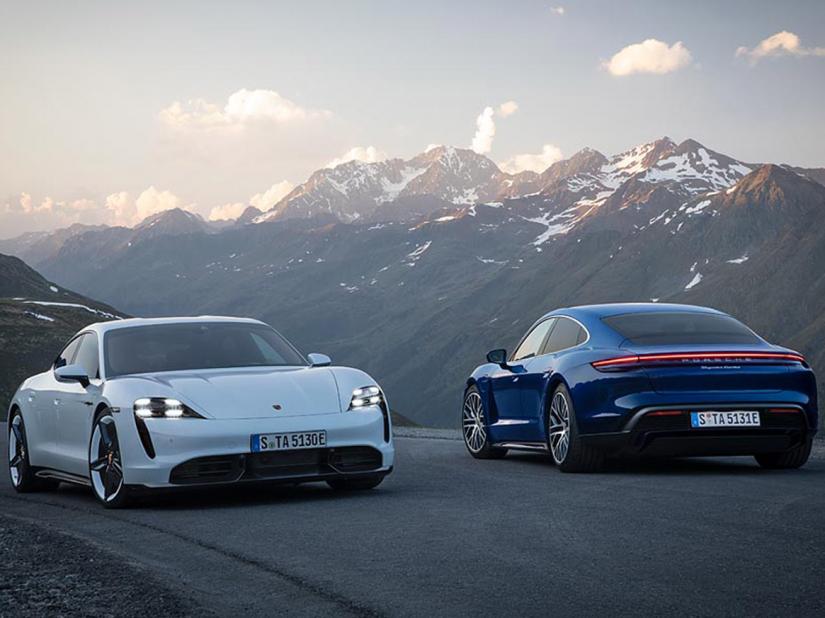 Porsche Taycan chega ao Brasil custando a partir de R$ 589 mil