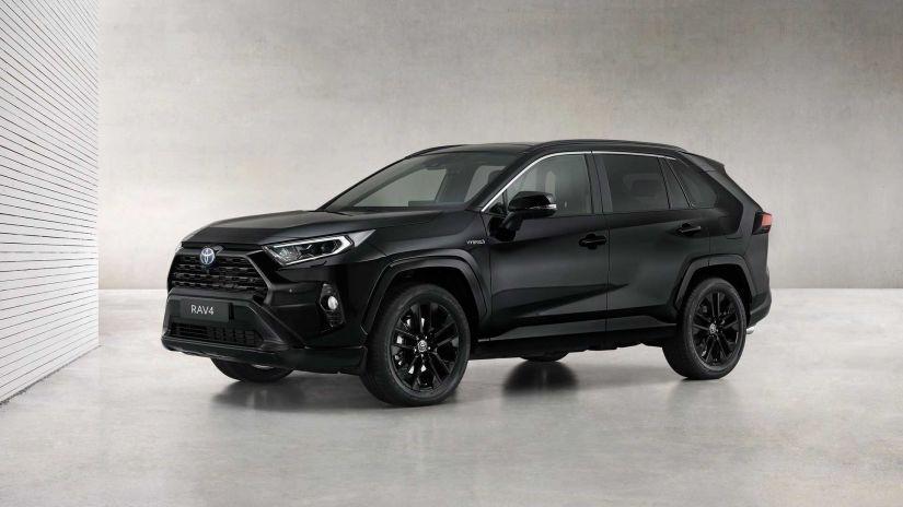 Toyota lança RAV4 híbrido em série especial Black Edition