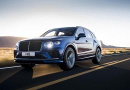 Bentley revela SUV mais rápido do mundo que passa dos 300 km/h