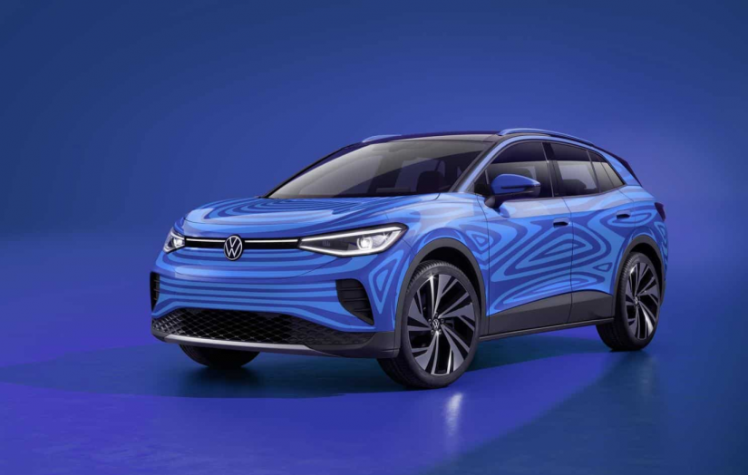 Volkswagen revela design exterior do SUV 100% elétrico ID.4