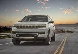 Jeep apresenta novo Wagoneer como SUV para 7 pessoas