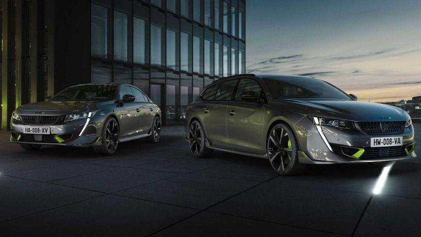 Peugeot apresenta 508 PSE como modelo de produção mais potente