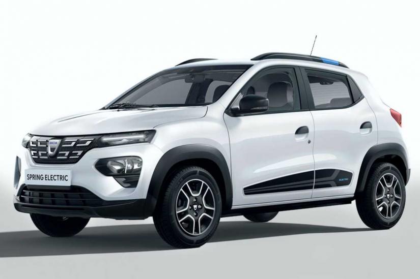Dacia anuncia Spring com motor elétrico de 44 cv
