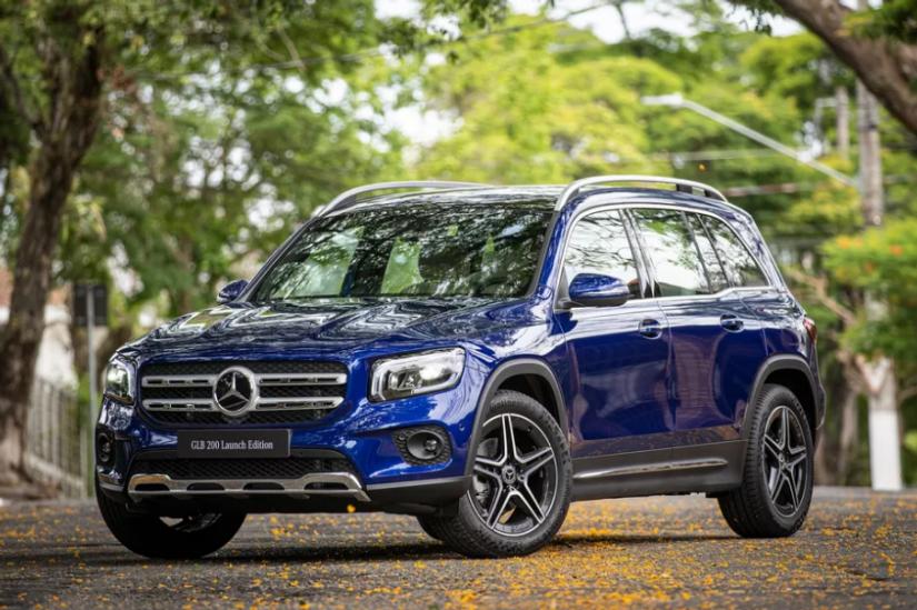 Mercedes-Benz lança SUV de sete lugares