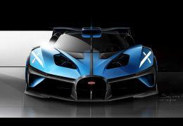 Bugatti apresenta conceito de supercarro de 1.850 cv