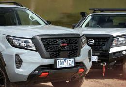 Nissan revela visual inédito para o Frontier 2021