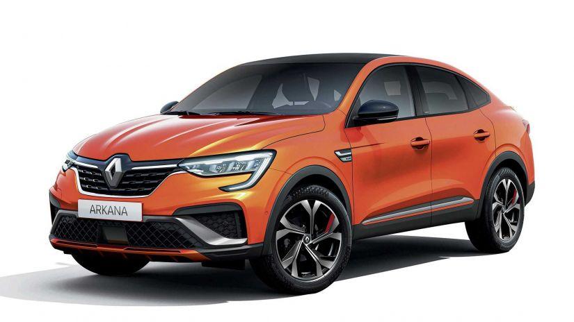 Renault Arkana chega na América do Sul