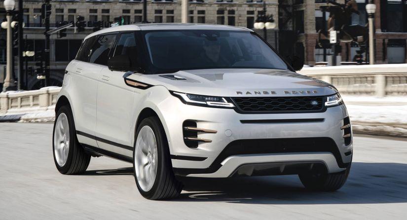 Range Rover Evoque 2021 começa a ser vendido nos Estados Unidos