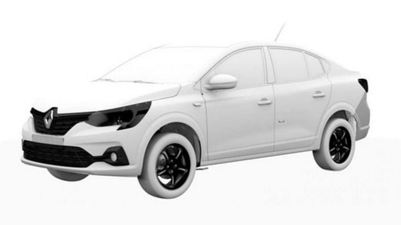 Vazam primeiras imagens do projeto do novo Dacia Logan