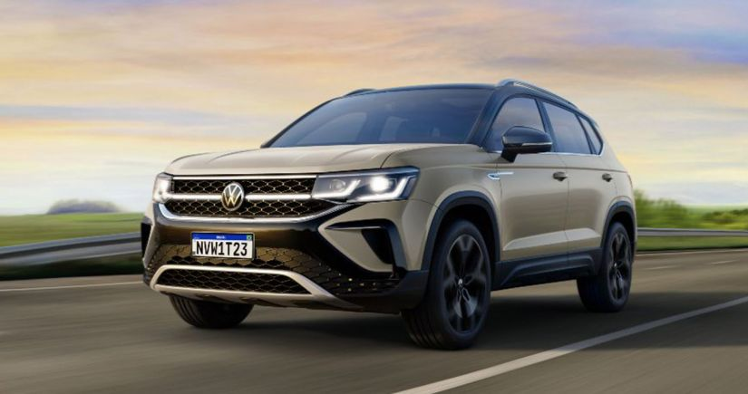 Volkswagen mostra novo Taos no Brasil