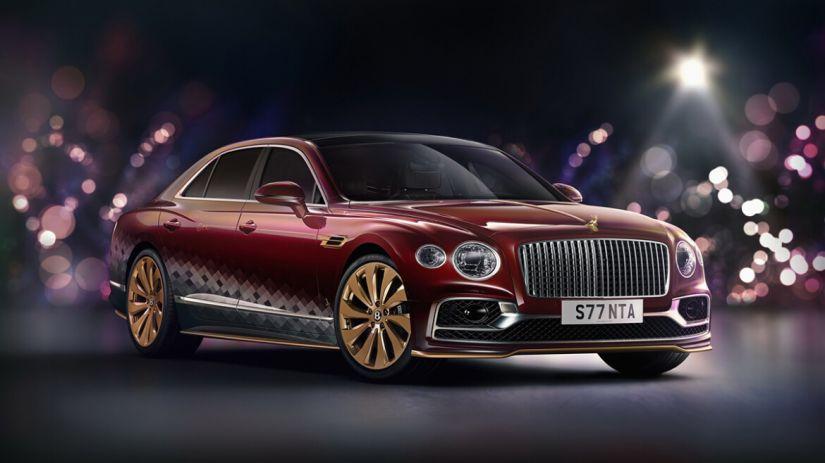 Bentley anuncia edição especial de natal do Flying Spur V8 Reindeer Eight