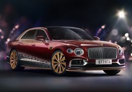Bentley anuncia edição especial de natal do Flying Spur V8 Reindeer Eight