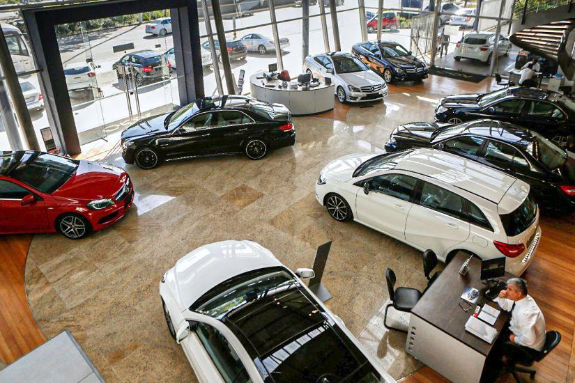 Vendas de veículos apresenta queda de 21,6% em 2020