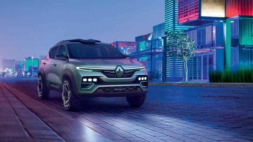 Renault mostra SUV do Kwid com base do Nissan Magnite