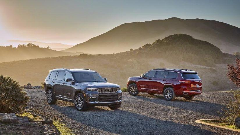Jeep divulga imagens do novo Grand Cherokee L com três fileiras de bancos