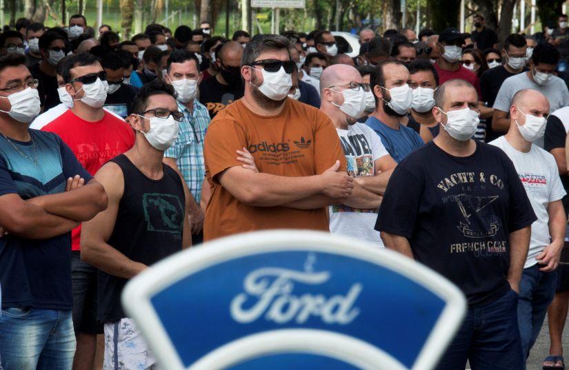 Mais de 10 mil pessoas serão demitidas com saída da Ford do Brasil