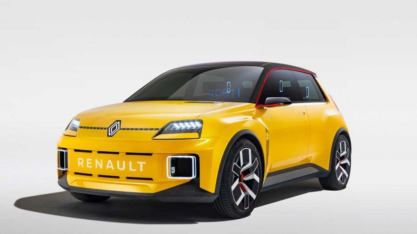 Renault divulga detalhes de novo carro elétrico retrô em desenvolvimento