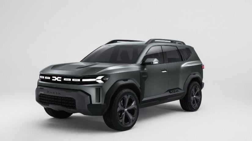 Renault revela detalhes de protótipo Bigster Concept