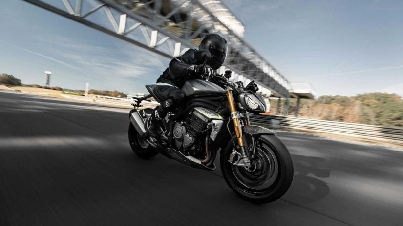 Nova Triumph Speed Triple 1200 RS chega com design diferenciado