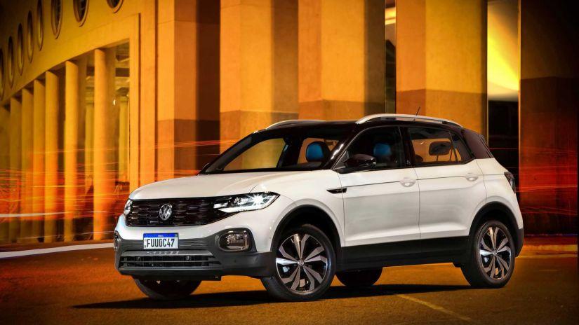 Volkswagen anuncia T-Cross 2021 mais caro
