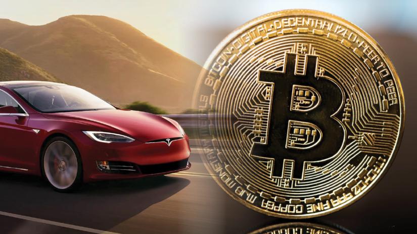 Tesla anuncia que aceitará bitcoin como pagamento