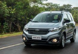 Chevrolet Spin ganha acréscimo no preço e parte de R$ 81.890