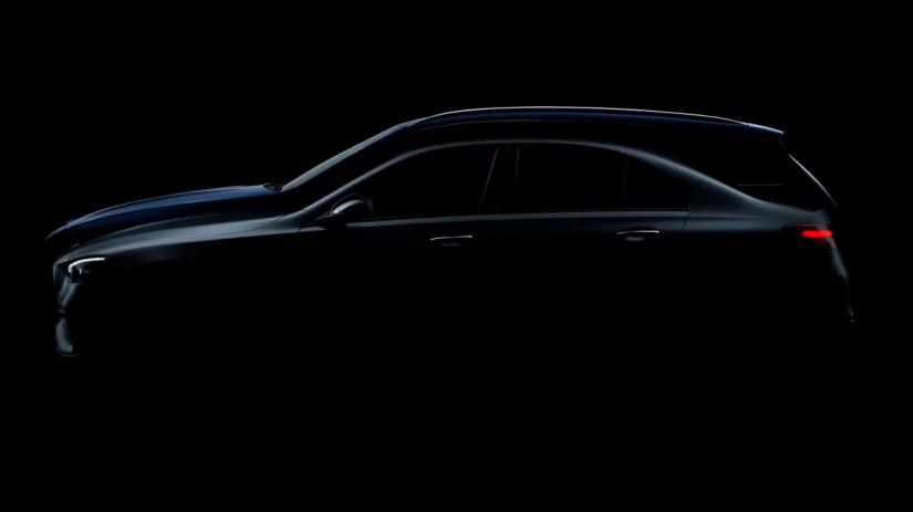 Mercedes Classe C 2022 ganha teaser antes do lançamento oficial