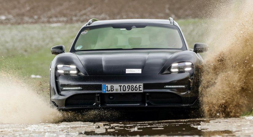 Porsche revela detalhes da perua aventureira elétrica Taycan Cross Turismo 2022