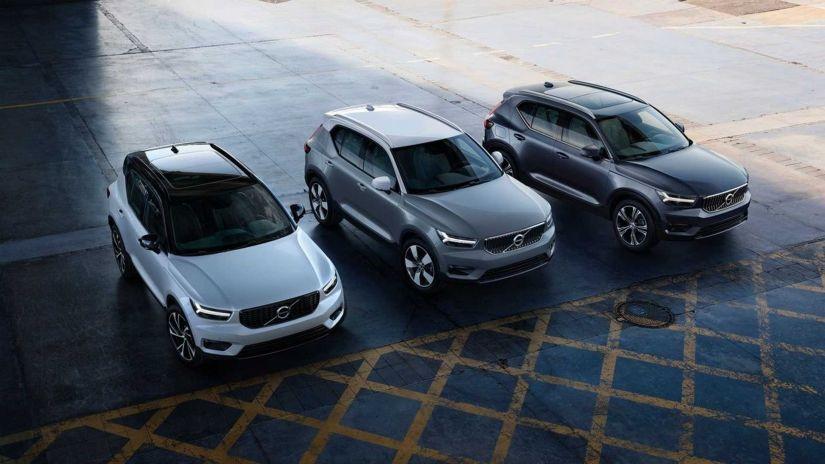 Volvo XC40 híbrido ganha novas versões