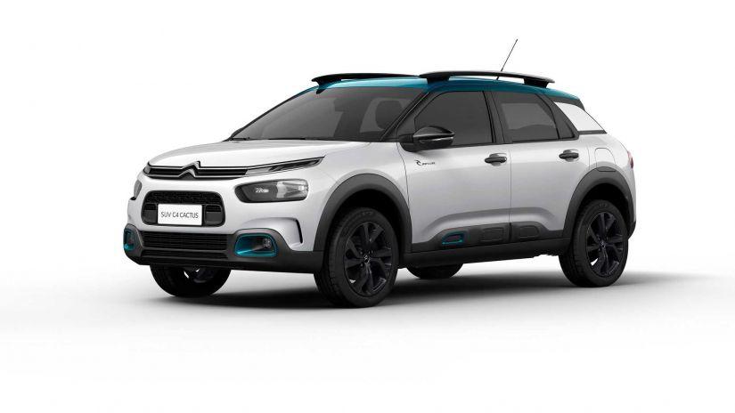Citroën lança série especial e limitada C4 Cactus Rip Curl