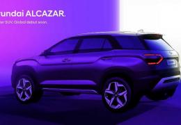 Hyundai mostra Alcazar Creta de 7 lugares em teaser
