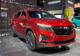 Chevrolet Equinox terá produção iniciada em junho