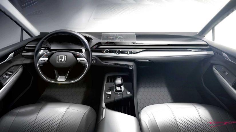 Honda apresenta conceito para simplificar interior dos carros