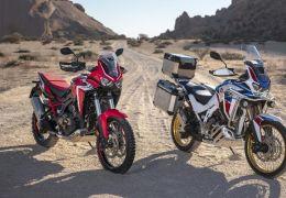 Honda lança nova Africa Twin 1100 no Brasil