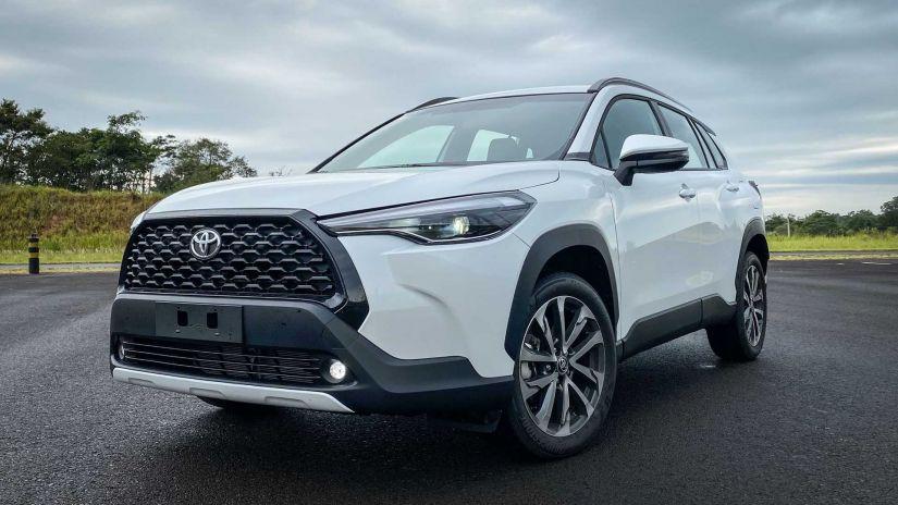 Toyota Corolla Cross sofre aumento de R$ 4,5 mil nas vendas