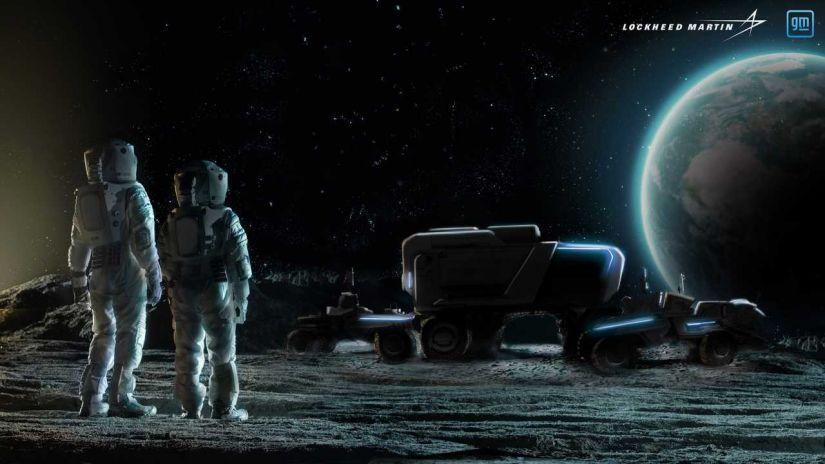 GM terá projeto de veículo elétrico para andar na lua